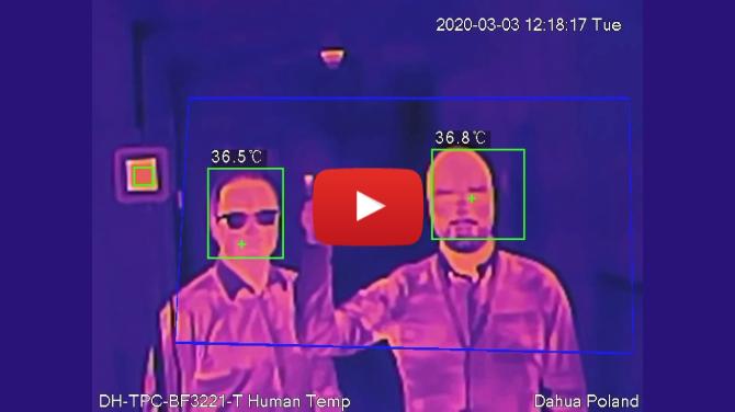Thermal Body Temp Measurement Solution - Dahua